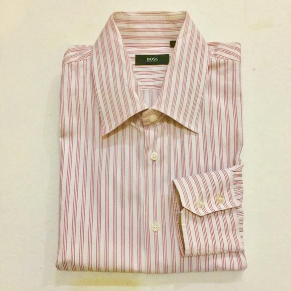 0f7dac43 Hugo Boss Shirts | Bogo Pink Dress Shirt | Poshmark